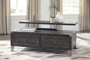 Ashley Furniture Dark Gray Lift Top Cocktail Table for Sale in Santa Ana, CA