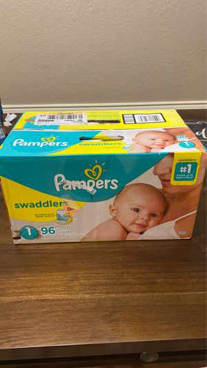 Pampers swaddlers size 1 for Sale in Red Oak, TX