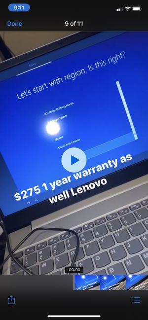 Lenovo Laptop (one year warranty) for Sale in Houston, TX