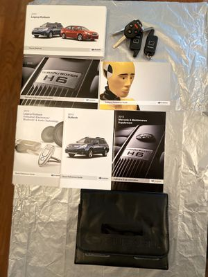 2013 Subaru Keyless Entry with Manual for Sale in Stone Mountain, GA