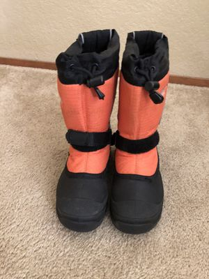 Kids snow boots size 3 for Sale in Mukilteo, WA