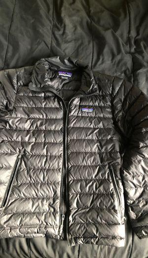 Patagonia men's, black, size small, puff jacket for Sale in Spokane, WA