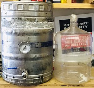 Keggle with plastic carboy for Sale in Hamilton, MI