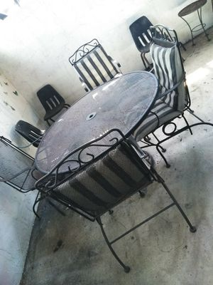 Metal Patio Table for Sale in West Palm Beach, FL