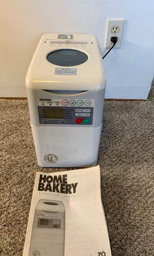 Zojirushi BBCC-S15A Bread Maker Machine White W/ Instructions, Measuring Cup ! for Sale in San Diego, CA