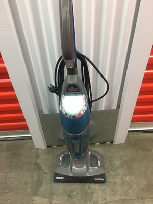 Bissell symphony vacuum and carpet steamer for Sale in San Leandro, CA