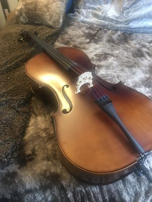 Ricard Bunnel 4/4 Cello - with case and bow! for Sale in Sunnyvale, CA
