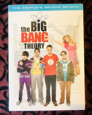NEW the BiG BANG THEORY TV Series The Complete Second Season Sealed!! for Sale in Orlando, FL