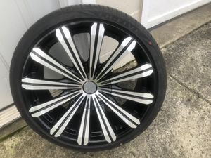 Almost new tires and rims for Sale in Bridgeport, NY