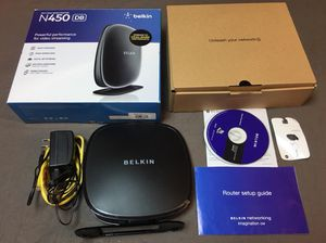 Belkin n450 wireless dual-band router for Sale in Hanover, MD