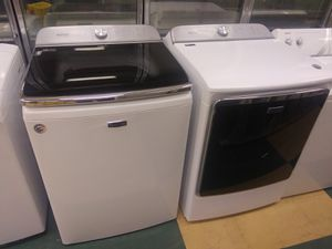 Maytag ..commercial.size .set guarantee& warranty. for Sale in Glen Raven, NC