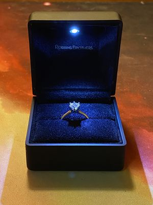 Robbin Brothers Engagement Solitaire Diamond Ring Tiffany's Style for Sale in Placentia, CA