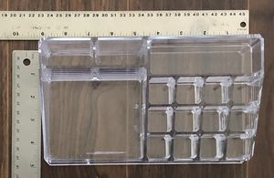 Acrylic Make-Up/Beauty/Bathroom Organizers (Please read listing for details) for Sale in Modesto, CA