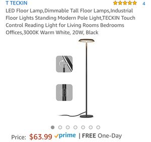 LED Floor Lamp,Dimmable Tall Floor Lamps for Sale in New York, NY