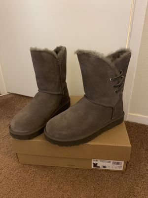 100% Authentic Brand New in Box UGG Constantine Boots / Women size 10 / Color: Grey for Sale in Walnut Creek, CA