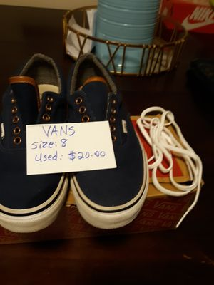 VANS - Blue (navy) for Sale in Springfield, MA