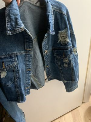 Brand new jean jacket for Sale in San Jose, CA