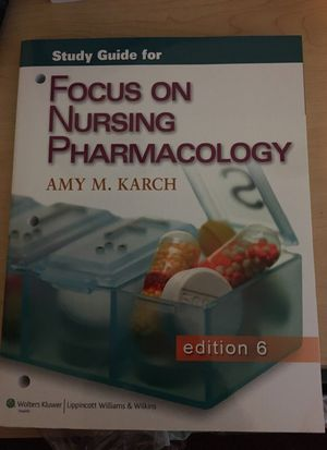 Study guide nursing pharmacology for Sale in Palm Bay, FL