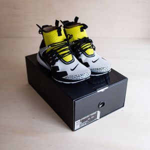 Nike Air Presto Mid Acronym Dynamic Yellow Size 9 for Sale in Brier, WA