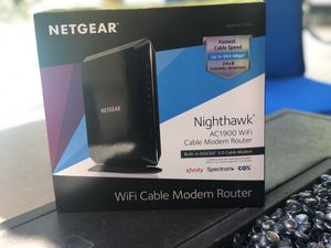 Netgear cable modem router for Sale in Davie, FL