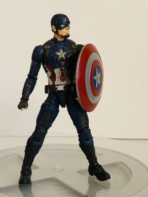 Marvel Captain America Civil War Action Figure with Shield for Sale in Los Angeles, CA