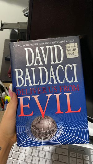 Deliver Us From Evil Shaw Series David Baldacci First Edition 2010 Hardcover for Sale in Miami, FL