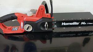 Homelite 14 in. 9 Amp Electric Chainsaw for Sale in Modesto, CA