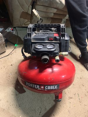 Porter cable 150psi air compressor for Sale in Los Angeles, CA
