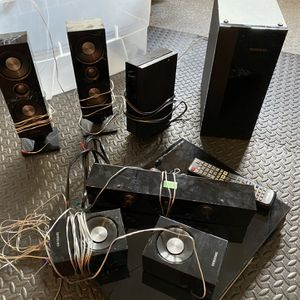 Samsung HTD5300 5.1-Channel 3D Blu-Ray Home Theater System for Sale in Redwood City, CA