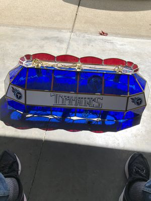 Tennessee Titans pool table light for Sale in Murfreesboro, TN