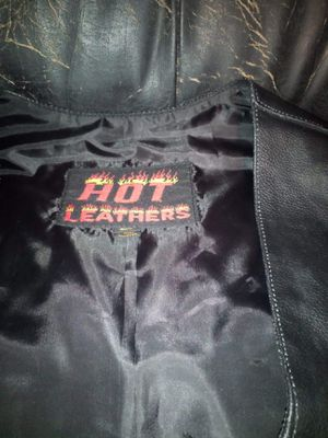 Hot leather vest for Sale in Wichita Falls, TX