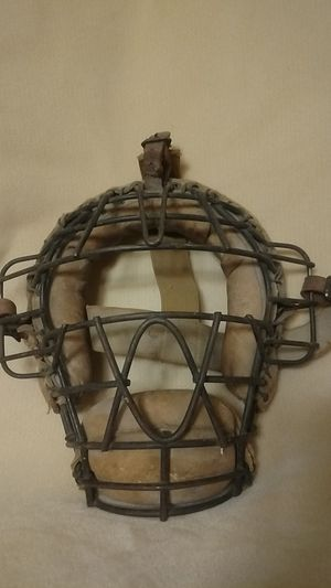 Antique Catcher's mask for Sale in MN, US