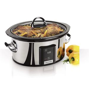 Crock-Pot 6.5-Quart, Programmable Touchscreen Slow Cooker, Silver, SCVT650-PS for Sale in Delray Beach, FL