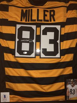 Heath Miller Autographed Jersey (Frame Not Included) for Sale in Pittsburgh,  PA