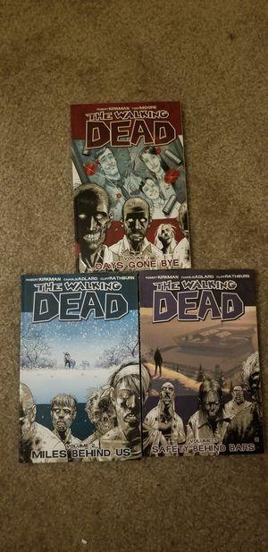 Walking Dead volumes 1-3 for Sale in Burlington, MA