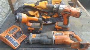 24 volt ridged power tools set for Sale in Los Angeles, CA