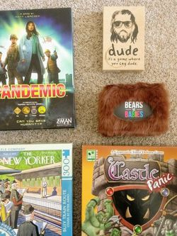 Board Games And Card Games for Sale in Clayton,  CA