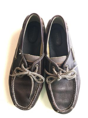 Sperry Brown Boat Shoe size 7.5 M for Sale in Helotes, TX