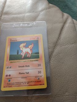 Bundle. Pokemon. 1999 Ponyta. 25th Anniversary General Mills Holo Pikachu. Both For $12. for Sale in Redmond,  WA