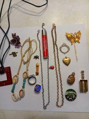 18 tiny treasures. Fun trinkets.Betsy Johnson original scoop. for Sale in Port Richey, FL