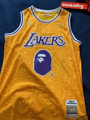 Bape Lakers jersey for Sale in Shadow Hills, CA