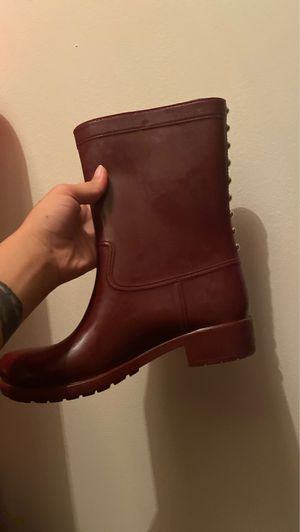 Aldo rain boots women's size 8-9 for Sale in Westerville, OH