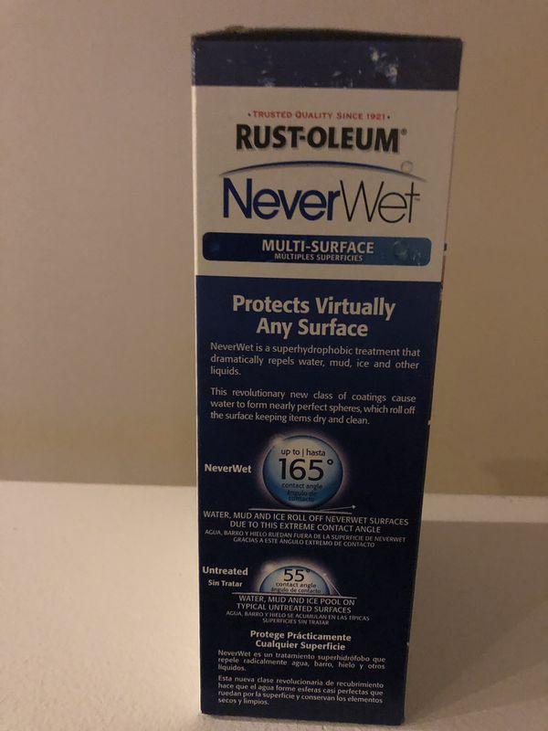 Rust-oleum Never Wet