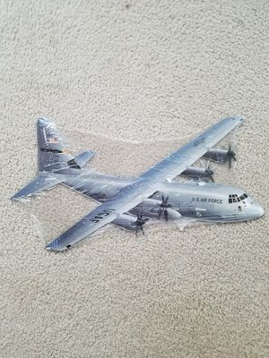 C130 Hercules plane steel metal sign cutout for Sale for sale  Vancouver, WA