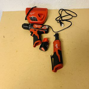 Milwaukee M12 Ratchet And Drill Driver for Sale in Houston, TX