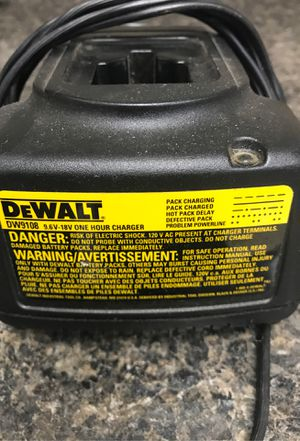 DW9108 9.6 volt -18volt. One hour charger for Sale in Olympia, WA