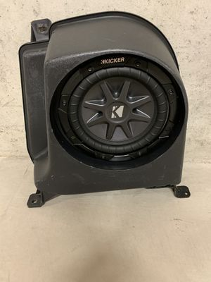 Mopar / kicker subwoofer (Jeep Wrangler) for Sale in Bridgeport, WV
