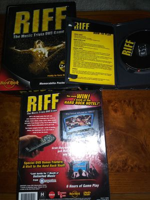 Board Game. Riff Music Trivia for Sale in Raleigh, NC