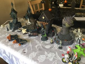 Hawthorne Village Nightmare before Christmas town for Sale in Citrus Heights, CA