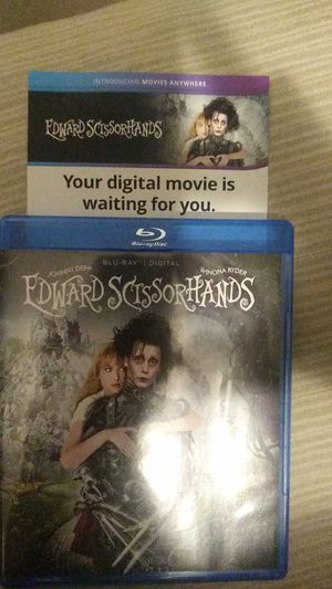 Edward Scissorhands Digital Code for Sale in Covina, CA